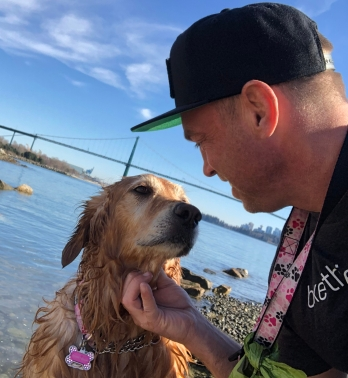 Brian Nadon and Ginger West Vancouver