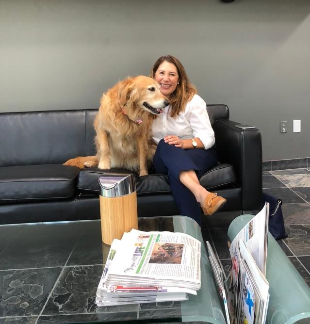Ria Bugnatto and Ginger-Bella