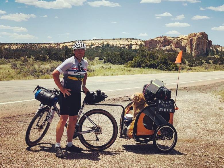 Brian Nadon in New Mexico